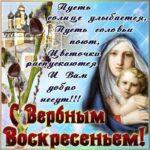 С вербным воскресением gif открытки