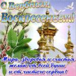Вербное воскресенье бесплатно открытки