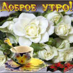 Открытки цветы комплименты на все утро