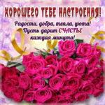 Открытка для хорошего настроения цветы